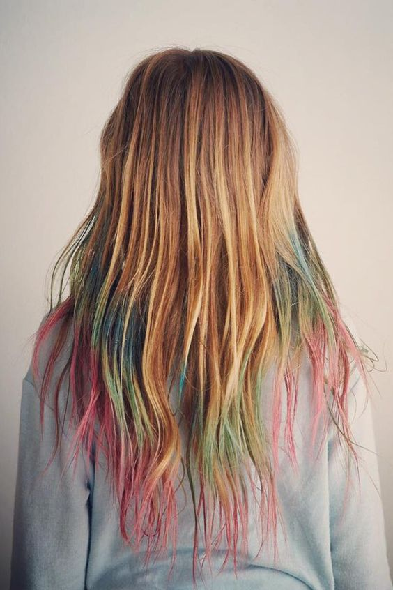 hair chalking tips