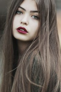 hair color for green eyes and cool skin tone