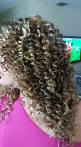 highlighted pencil curls