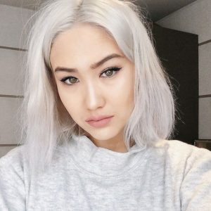 how to get white hair from black