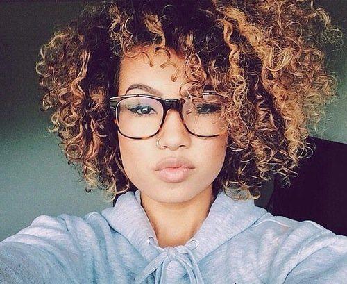 natural corkscrew curls