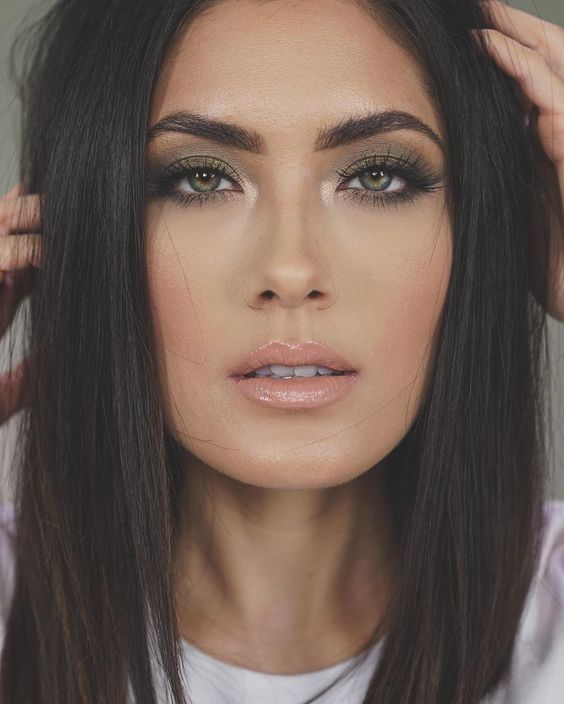 Natural Makeup For Dark Brown Eyes