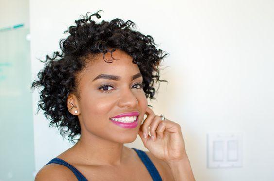 short corkscrew curls