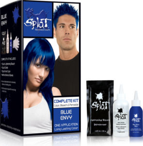 splat blue envy hair dye