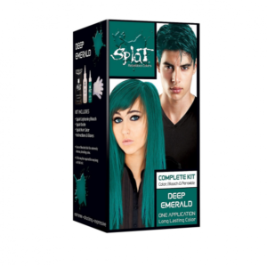splat deep emerald hair dye
