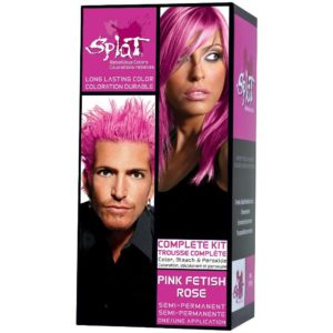 splat pink fetish hair dye
