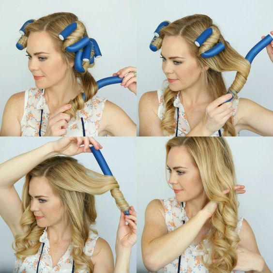 style wavy hair without heat how to curl your hair without heat no heat curls tutorials 7562