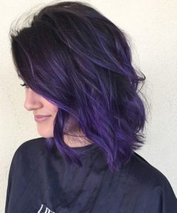 violet color melt