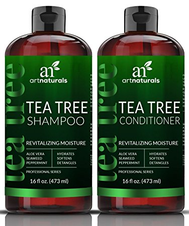 Art Naturals Tea-Tree-Oil Shampoo and Conditioner Set