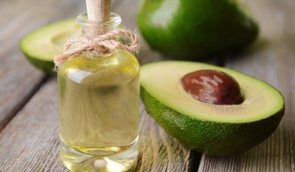 Avocado olive oil hair mask