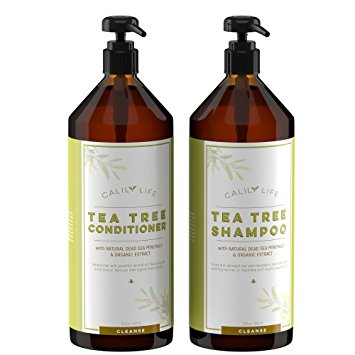 Calily Life Organic Tea Tree Shampoo + Conditioner