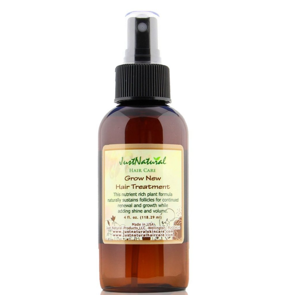 Just Natural Skin Care Grow New Hair Treatment