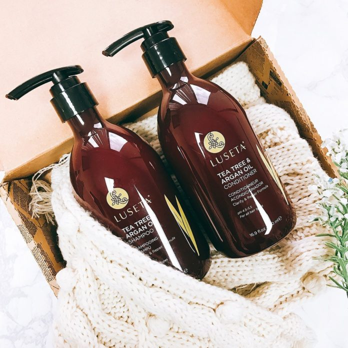 Luseta Tea Tree & Argan Oil Shampoo & Conditioner Set
