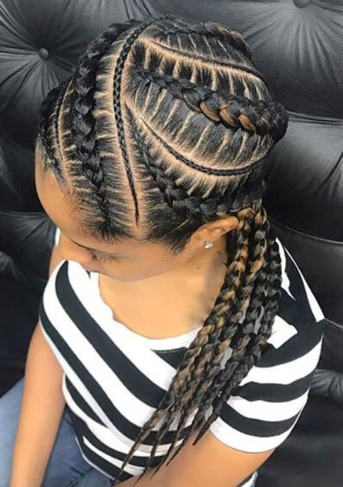 Medium Goddess Braids