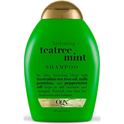 OGX Shampoo, Hydrating Tea Tree Mint