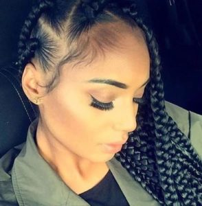 box braid style