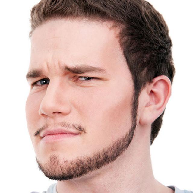 Jawline Facial Hair