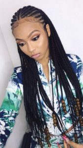 cornrow Box Braids