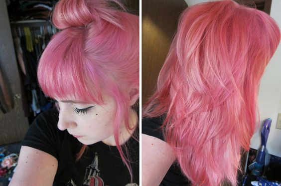 cotton candy pink manic panic