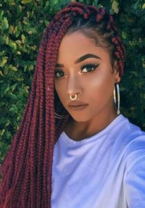 funky fresh box braids