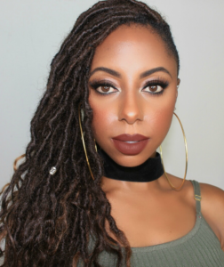 goddess locs with side shave