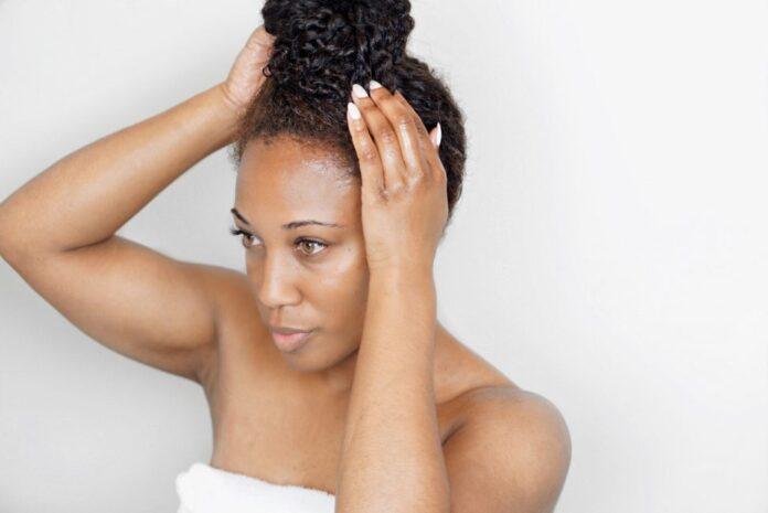 Home Hot Oil Treatment Natural Hair