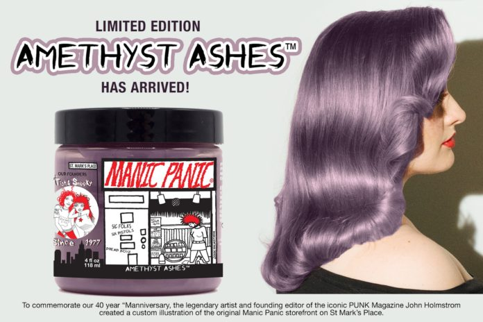 manic panic grey amethyst ashes