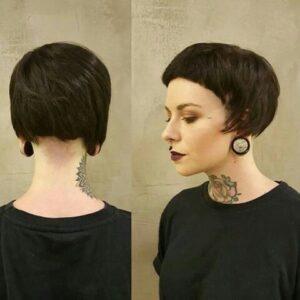micro bob with bangs