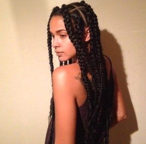 natural look braids