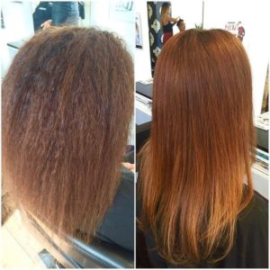red hair keratin treatment