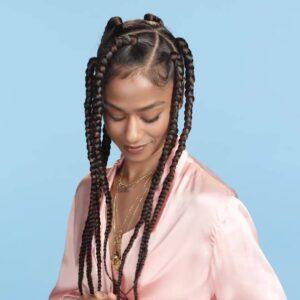 retro jumbo braids