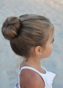 simple ballerina bun