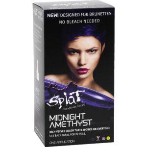 splat midnight amethyst