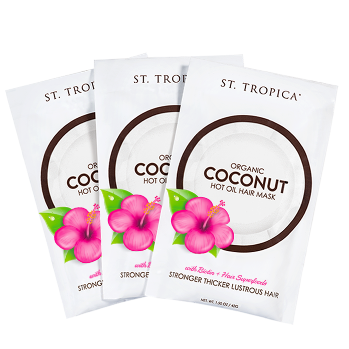 st tropica coconut hair oil mask