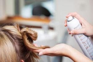 use hair spray