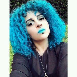 voodoo blue manic panic blue