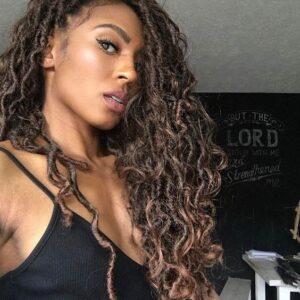 wild curls goddess locs