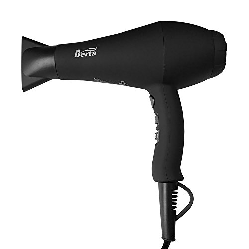 Berta 1875W Negative Ion Hair Blow Dryer