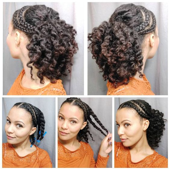 Quick Easy Protective Styles For Natural Hair