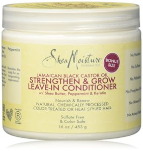 shea moisture strengthen grow leave in conditioner