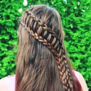 Diagonal Ladder Braid
