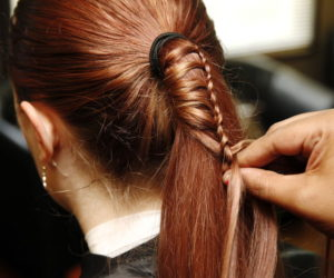 How to do a ladder braid