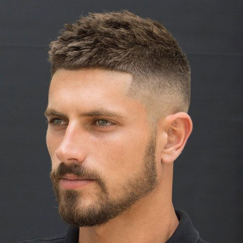 Intimidating mens haircuts short sides