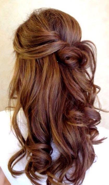 Warm Bronde Hairstyle