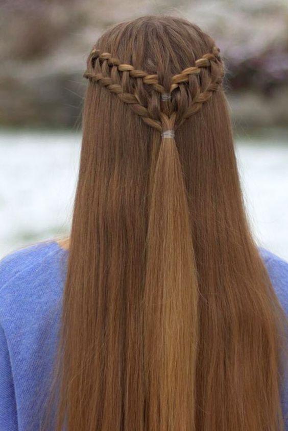 Ladder Braid Tutorial | 25 Gorgeous Ladder Braid Hairstyles Two Side Braids
