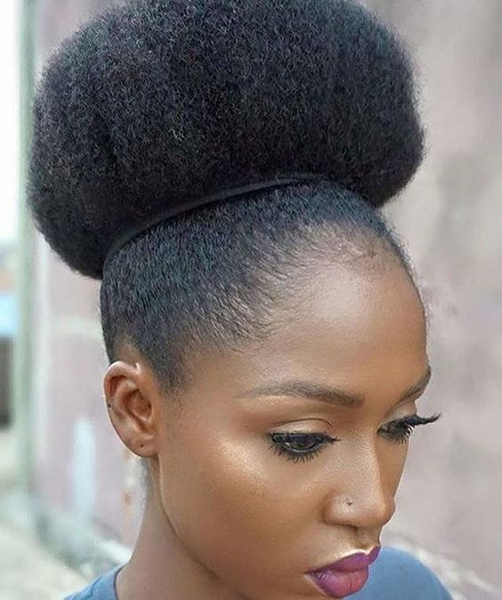 Pictures Of Natural Hair Styles: African American Natural Hairstyles For Medium Length Hair