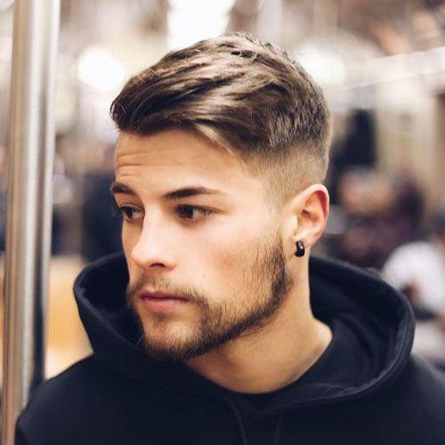 Intimidating mens haircuts fade