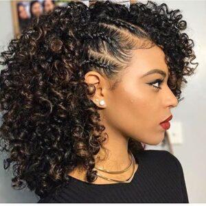 skinny side braids