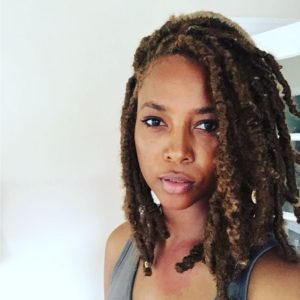 thick and natural short faux locs