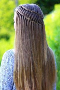 two strand ladder braid